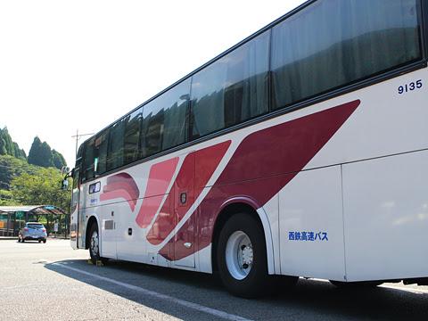 西鉄高速バス「桜島号」 9135 えびのPAにて その2