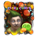 Crazy Colors GO SMS icon