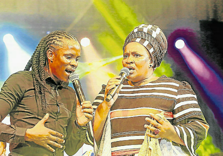 Award winning gospel artists Lusanda and Betusile Mcinga will launch their albums in Mthatha on Saturday