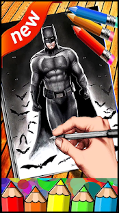 How To Draw BatMan - náhled