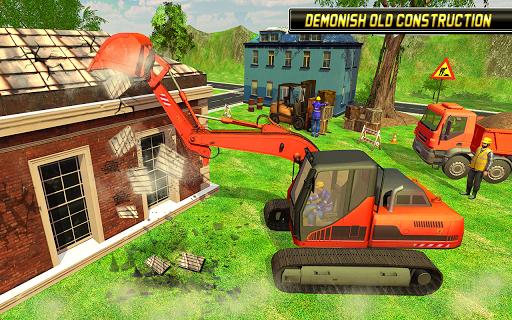 Heavy Excavator Simulator 2018 - Dump Truck Games screenshots 11