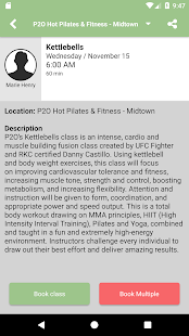 P2O Hot Pilates and Fitness - náhled
