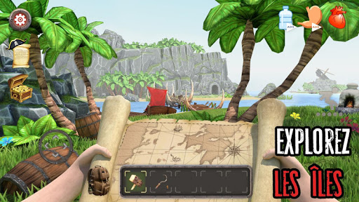 Télécharger gratuit Survival Raft: La survie sur l'île - Simulateur APK MOD 1