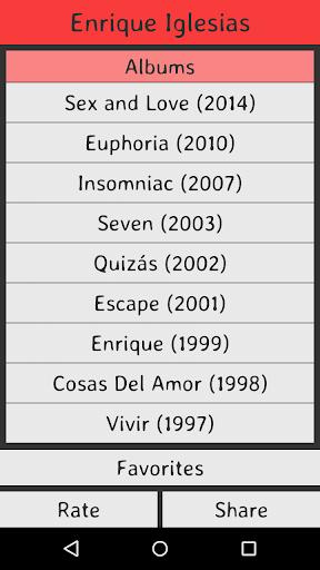 Enrique Iglesias Lyrics