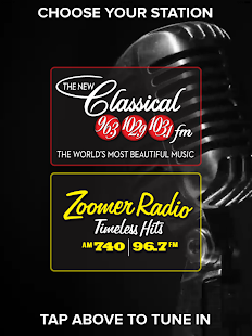 Classical & Zoomer Radio- screenshot thumbnail