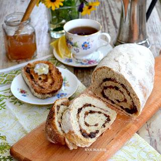European Cinnamon, Honey & Raisin Bread