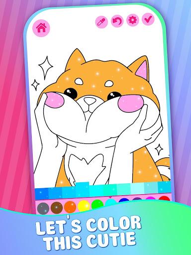 Educative Animated Shining Kids Coloring Book screenshots 3