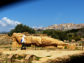 Photo: Telamone from the Temple of Olympian Zeus