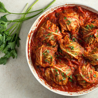 Weeknight Cabbage Rolls.