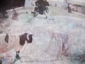 Photo: Killing Time 2007 48 x 60 in oil on canvas