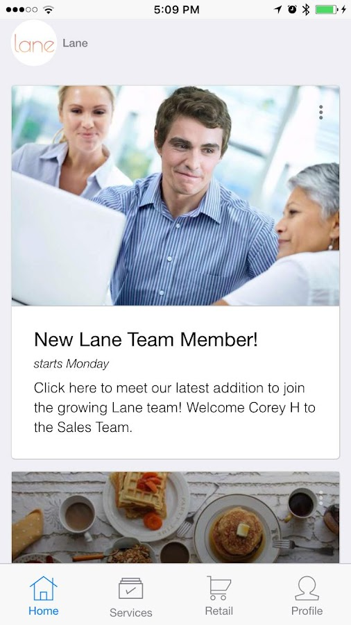 Lane - Smart Workplaces- screenshot