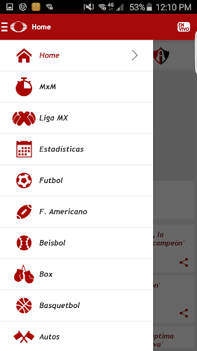 Televisa Deportes Screenshot