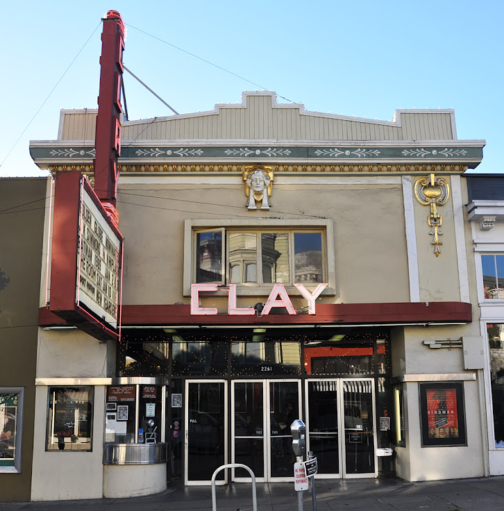 The Clay Theater on Fillmore Street as it looks today.