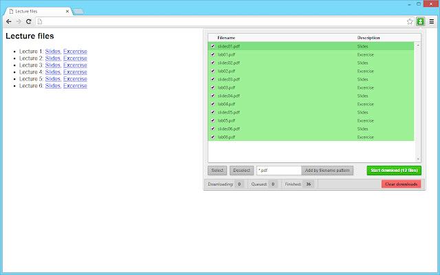 Batch Link Downloader