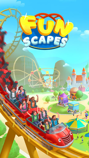 Funscapes: A Theme Park Game with Match 3 Puzzle 0.1.55 screenshots 1
