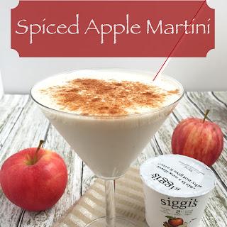 Spiced Apple Martini.