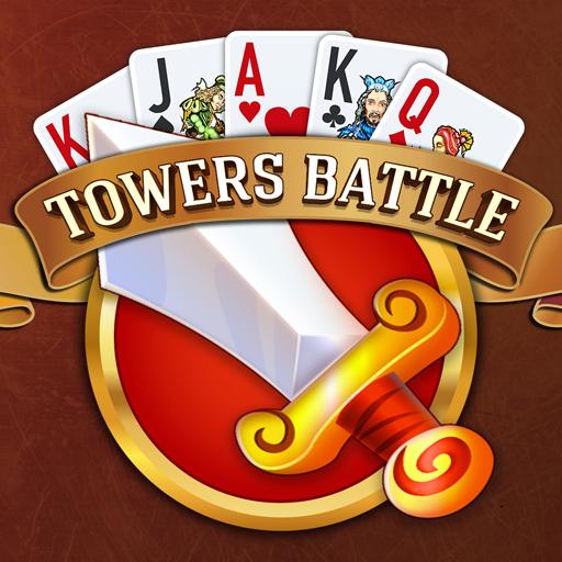 Towers Battle Solitaire Tripeaks