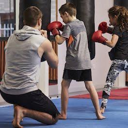 Cours de boxe pour enfant avec Simon