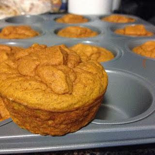 Clean Pumpkin Protein Muffins.