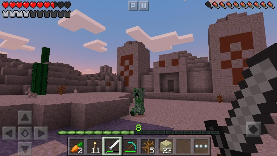 Minecraft Trial Android App Screenshot