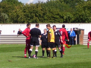 Photo: 28/08/10 v Cockfosters (FA Cup Preliminary Round) 2-2 - contributed by Bob Davies