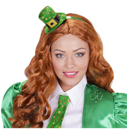 Diadem, St Patricks day minihatt