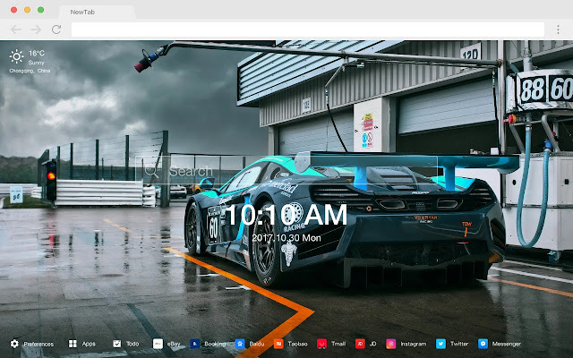 BMWtuning New Tab Page Top Wallpapers Themes