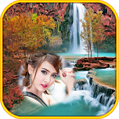 Waterfall Photo Frames montage