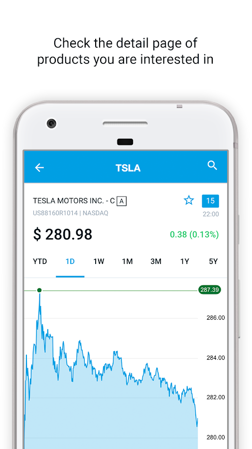 DEGIRO - Mobile Stock trading- screenshot