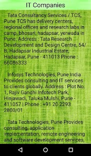 Pune Companies - náhled