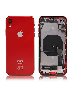 iPhone XR Housing with small parts Original Pulled Red