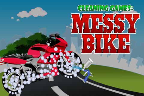Cleaning Games : Messy Bike 1.0.0 screenshots 1