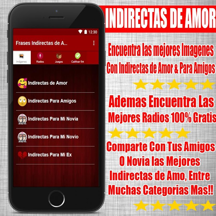 Frases Indirectas De Amor Android Apps Appagg