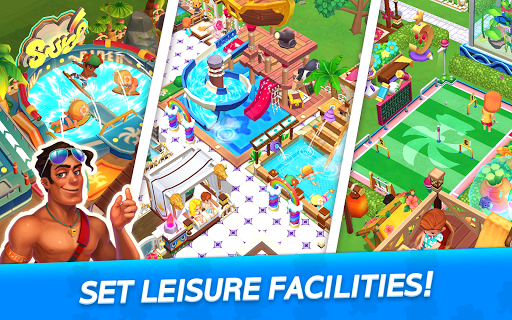 My Little Paradise : Resort Management Game android2mod screenshots 19