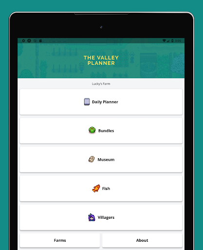 Screenshot for The Valley Planner in United States Play Store