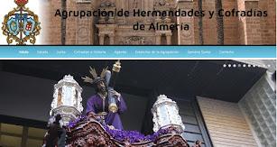 Imagen de la web actual de la Agrupación.