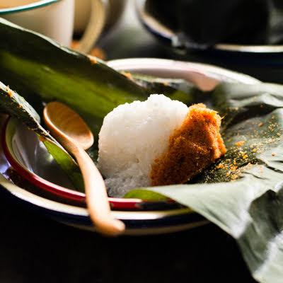 Sticky Rice with Fish Floss | Pulut Sambal