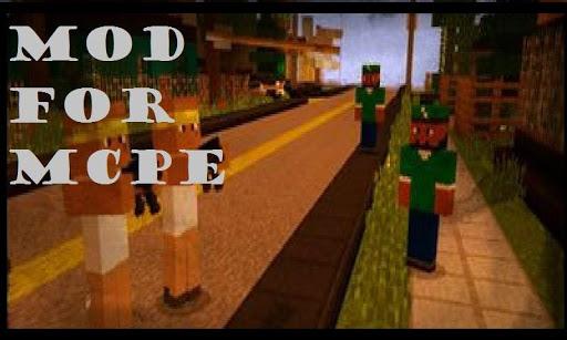 Addon GTA 5 For Minecraft PE 10 screenshots 2