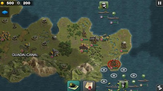 Glory of Generals :Pacific HD Apk Download For Android and Iphone 5