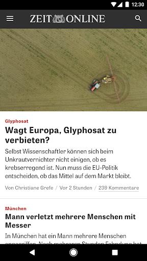 ZEIT ONLINE - Nachrichten 1.9.7 screenshots 5