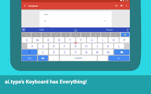 ai.type keyboard Plus + Emoji v7.0.1
