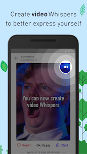 Whisper App Download For Android and iPhone 4