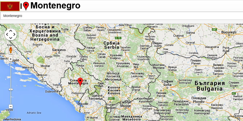 Montenegro map Android Apps on Google Play