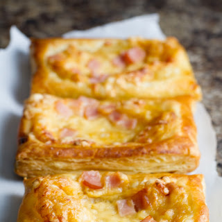 Canadian Bacon and Cheese Savory Tarts #sponsored