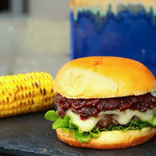 Bourbon Bacon Jam Burger.
