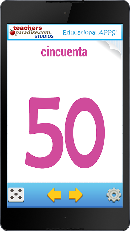Numeros 0-100 Spanish Numbers - Android Apps on Google Play