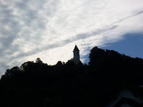Photo: Georgenberg, bei Kirchdorf - Micheldorf. Aus der Station Tutatio im Oberlauf vom Fluss Krems, zwischen Kirchdorf und Micheldorf, geling man in Richtung des Flusses Steyr.