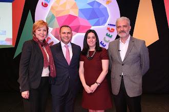 Photo: Soldan sağa: Ufuk Tarhan, Murat Şahin, Kına Demirel, Cem Tarık Yüksel