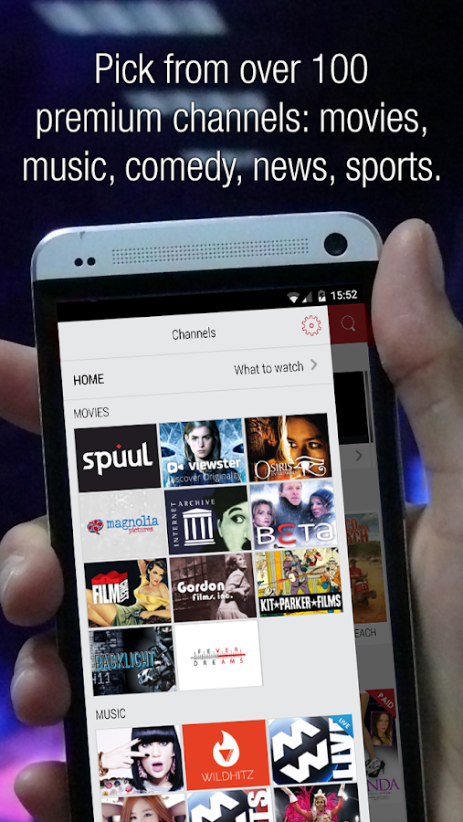 Flipps TV - Movies, Music & TV- screenshot