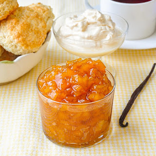 Vanilla Mango Jam.